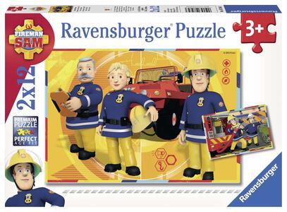 Sam il pompiere Puzzle 2x12 pezzi Ravensburger (07584) - 2