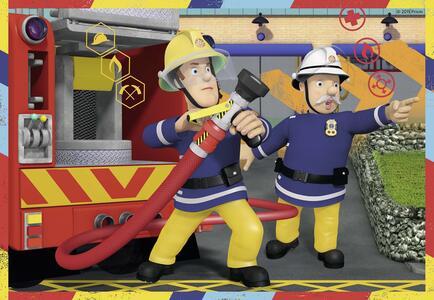 Sam il pompiere Puzzle 2x12 pezzi Ravensburger (07584) - 3