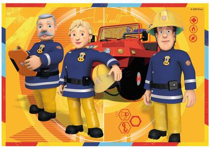 Sam il pompiere Puzzle 2x12 pezzi Ravensburger (07584) - 4