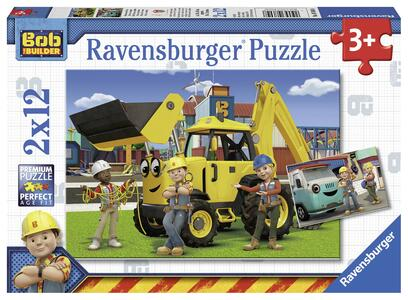Bob the builder Puzzle 2x12 pezzi Ravensburger (07604) - 2