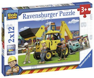 Bob the builder Puzzle 2x12 pezzi Ravensburger (07604) - 3
