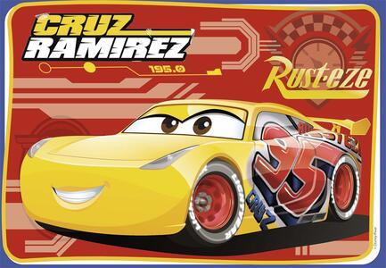 Cars 3 B Puzzle 2x12 pezzi Ravensburger (07614) - 2