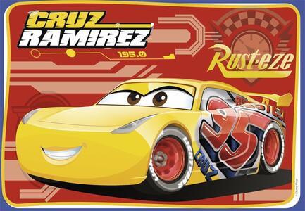 Cars 3 B Puzzle 2x12 pezzi Ravensburger (07614) - 5