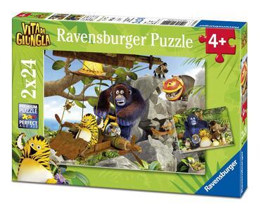Vita da giungla Puzzle 2x24 pezzi Ravensburger (07805)