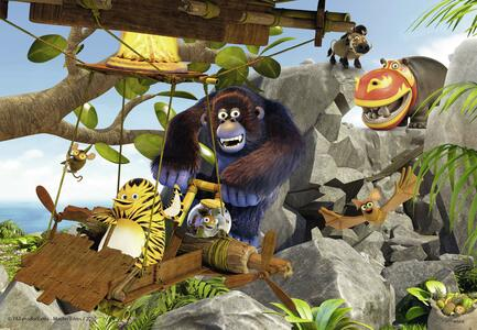 Vita da giungla Puzzle 2x24 pezzi Ravensburger (07805) - 3