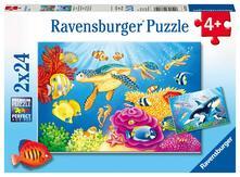 Puzzle 2X24 Pz. Il Mondo Sottomarino. Ravensburger (7815)