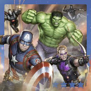 Avengers Puzzle 3x49 pezzi Ravensburger (08017) - 4