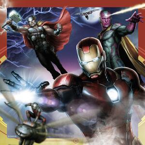 Avengers Puzzle 3x49 pezzi Ravensburger (08017) - 5