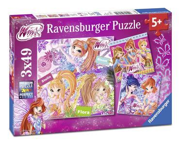 Winx Puzzle 3x49 pezzi Ravensburger (08031)