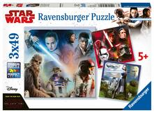 Ravensburger 8039. Puzzle 3X49 Pz. Star Wars Episode Viii