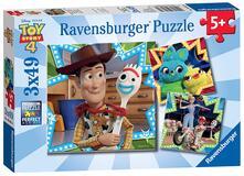 Toy story 4 Ravensburger Puzzle 3x49 pz