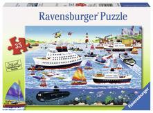 Ravensburger 08793. Puzzle 35 Pz. Happy Harbor