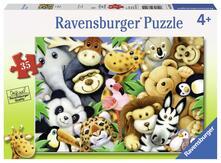 Ravensburger 08794. Puzzle 35 Pz. Softies