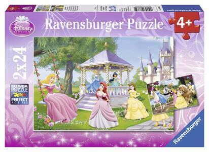 Principesse Disney Incantevoli Principesse. Puzzle 2x24 Pezzi
