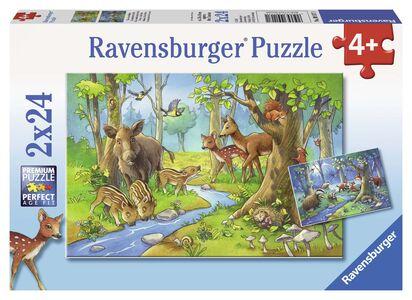 Giocattolo Puzzle Gli animali della foresta Ravensburger Ravensburger