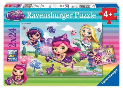 Little Charmers Puzzle 2x24 pezzi Ravensburger (09154)