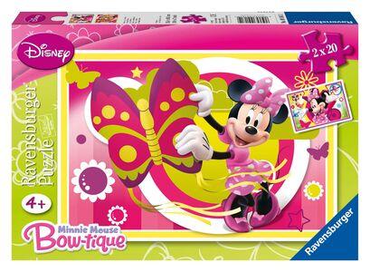 Giocattolo Puzzle Una giornata con Minnie Ravensburger 0