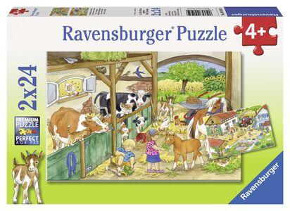 Giocattolo 2 Puzzle Ravensburger Vita di campagna Ravensburger 0