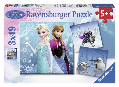 Frozen B Puzzle 3x49 pezzi Ravensburger (09264) - 2