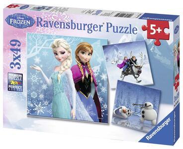 Frozen B Puzzle 3x49 pezzi Ravensburger (09264) - 3