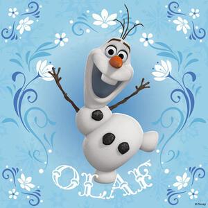 Frozen: Elsa, Anna e Olaf. Puzzle 3x49 Pezzi - 5