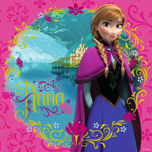 Frozen: Elsa, Anna e Olaf. Puzzle 3x49 Pezzi - 6