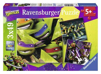 Giocattolo Puzzle Ninja Turtles Ravensburger 0
