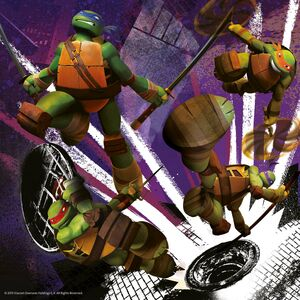 Giocattolo Puzzle Ninja Turtles Ravensburger 1