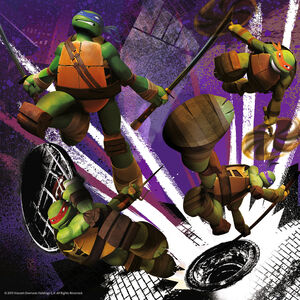 Giocattolo Puzzle Ninja Turtles Ravensburger 3