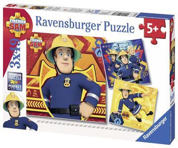 Sam il pompiere Puzzle 3x49 pezzi Ravensburger (09386) - 3