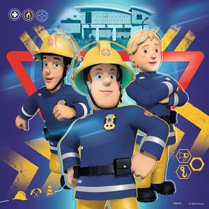 Sam il pompiere Puzzle 3x49 pezzi Ravensburger (09386) - 4