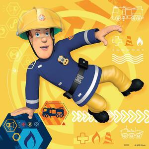 Sam il pompiere Puzzle 3x49 pezzi Ravensburger (09386) - 5