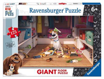 Giocattolo Puzzle da pavimento Giant 125 pezzi Secret Life of Pets Ravensburger