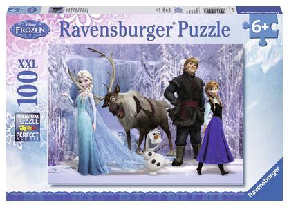 Frozen: La Regina delle Nevi. Puzzle 100 Pezzi