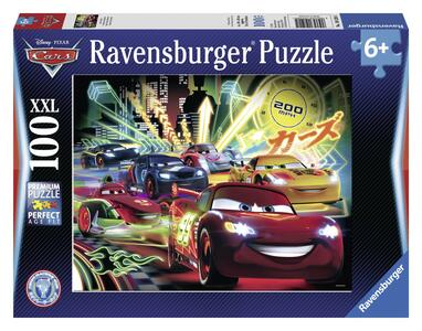 Cars Neon Racers. Puzzle 100 Pezzi