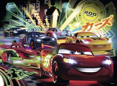 Cars Neon Racers. Puzzle 100 Pezzi - 3