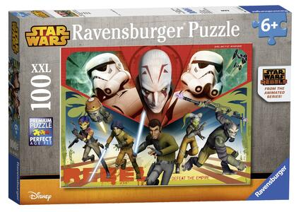 Star Wars Rebels Puzzle 100 pezzi Ravensburger (10563) - 2