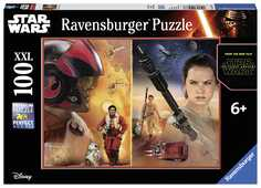 Giocattolo Puzzle 100 pezzi Star Wars The Force Awakens Ravensburger