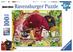 Giocattolo Puzzle XXL 100 pezzi Angry Birds. Uccelli contro Maiali Ravensburger 0