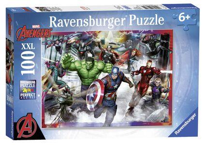 Giocattolo Ravensburger 10771. Puzzle XXL 100 Pz. Avengers Ravensburger