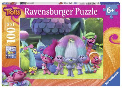 Foto di Puzzle XXL 100 pezzi Trolls. I Troll si divertono, Giochi e giocattoli