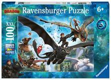 Dragons A Ravensburger Puzzle 100 pz. XXL
