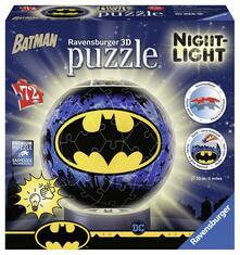 Ravensburger 11080. 3D Puzzleball Lampada Notturna. Batman