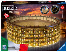 3D Puzzle. Colosseo Night Edition
