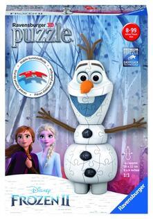 3D Puzzle. Olaf Frozen 2