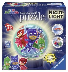 PJ Masks B Puzzle 3D Lampada notturna Ravensburger (11773)