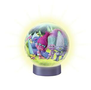 Trolls: Lampada notturna. Puzzle 72 Pezzi 3D - 3