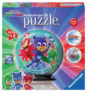 Ravensburger 11797. Puzzleball 72 Pz. Pj Masks B - 2