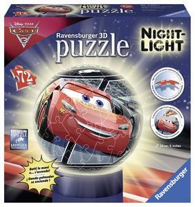 Cars 3. Lampada notturna Puzzleball da 72 Pezzi - 2