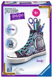 Girly Girl Edition. Sneaker. Animal Trend. Ravensburger Girly Girl puzzle 3D
